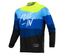 Maillot Pull-In Tone Bleu / Jaune