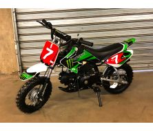 Dirt Bike KIDDY 70cc Automatique Monster Montée