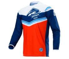 Maillot Track rouge navy