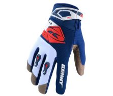 Off Road Gloves KENNY RACING - Red Navy