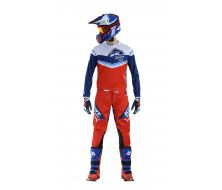 Pack Maillot + Pantalon KENNY RACING Navy - Rouge