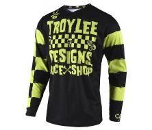 Maillot Enfant Race jaune et noir TROY LEE DESIGN