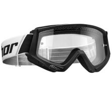 Masque Cross THOR Combat Black/White