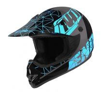 Casque NO-END Kid Origami Blue