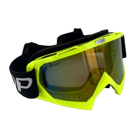 Masque Cross Jaune Fluo
