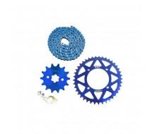 Configurer Votre Transmission CNC Bleu (Moteur YX)