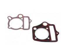 Pack Joint de culasse + embase 88cc Lifan passage d'huile rond 48mm