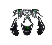 Kit Deco KLX Monster Noir
