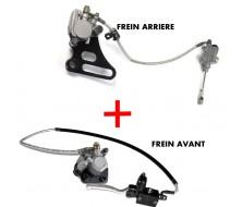 Kit de Frein Avant + Arrière Simple Piston