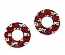 Donuts Pro Taper - Red pour Dirt Bike, Pit Bike