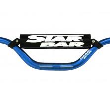 Guidon Fatbar StarBar 28,6mm Bleu 2014 pour Dirt Bike