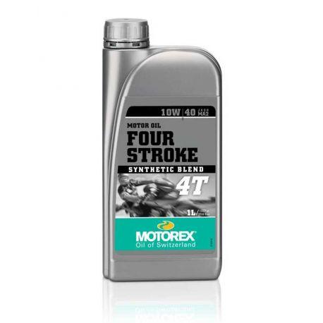 Huile moteur MOTOREX 4-Stroke 10W40 semi-synthétique 1L