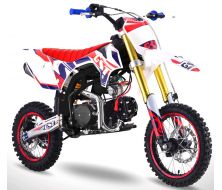 Pit Bike GUNSHOT 125 ONE - 14/12 - Rouge - 2020