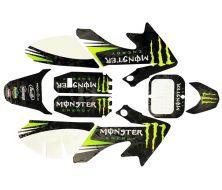Kit decoration CRF50 - Monster Energy Phantom New Edition 2020