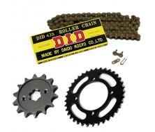 Comment mesurez sa taille de chaine sur une Dirt Bike, Pit Bike?