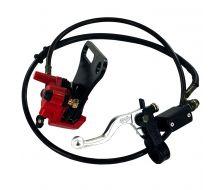 Kit frein arriere commande au guidon Simple Piston (Axe de 15mm)