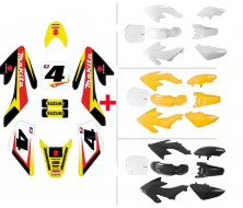 Set Graphics Kit MAKITA + Plastics Kit CRF50