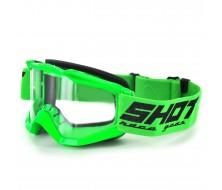 Masque Cross SHOT Assault Neon Vert