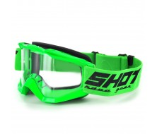 Protection Visage Cross SHOT Assault Neon Vert