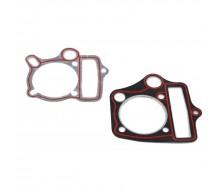 Pack Joint de culasse + embase 54mm 125cc YX (passage d'huile rond)