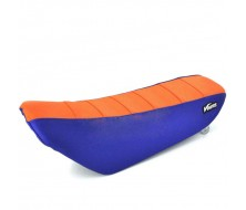 Seat Cover KLX Orange/Blue (KTM Special Edition)