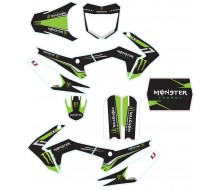 Kit Déco CRF110-S MONSTER ENERGY