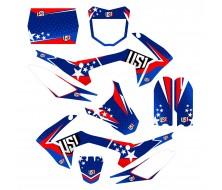 Graphic Kit USA CRF110S