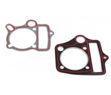 Joint de culasse + embase 125cc Gongyu/Bull passage d'huile rond