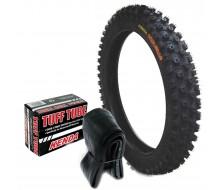 Set Tyre Cross 14'' Front + Inner Tube Kenda Carlsbad