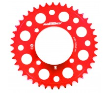 Couronne 420 CNC Rouge YCF (41, 43, 45 Dents)