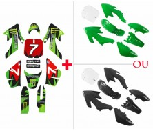 Pack Kit plastique + Deco Monster CRF50