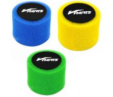 Air Filter Vparts Double Foam Red 44mm