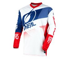 Maillot O'Neal Element Factor Bleu/Rouge