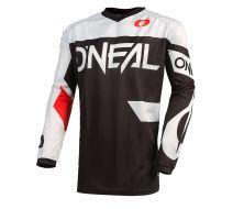 Maillot O'Neal Element Racewear Noir/Blanc
