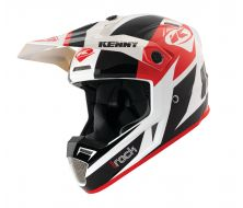 Casque TRACK Kenny black/red (2021)