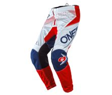 Pantalon O'NEAL Element Factor Bleu/Rouge (2021)