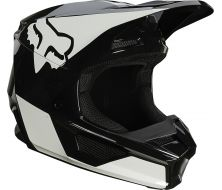 Casque FOX V1 RVN - Black (2021)