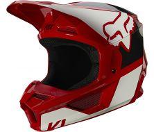 Casque FOX V1 RVN - Red (2021)