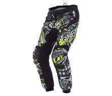 Pantalon O'Neal Element Attack Black/Neon yellow (2021)
