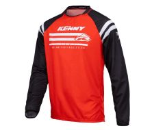 Maillot Enfant KENNY RACING Raw rouge (2021)