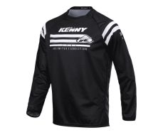 Maillot Enfant KENNY RACING Raw Noir (2021)