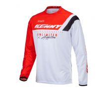 Maillot KENNY RACING Track Rouge Focus (2021)