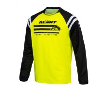 Maillot KENNY RACING Raw Jaune (2021)