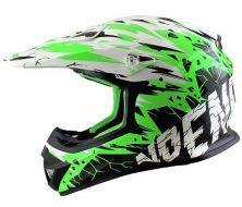 Off Road Helmet Youth NO-END  Cracked