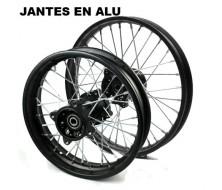 "Pack de Jante Alu 12""/14"" (12/15mm)"