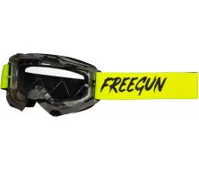 Protection visage SHOT FREEGUN Skill Camo Neon Yellow (2021)