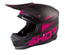 Casque SHOT Furious RAW 2.0 Black Fushia (2021)