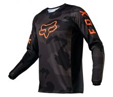 Maillot FOX 180 TREV - Black Camo (2021)