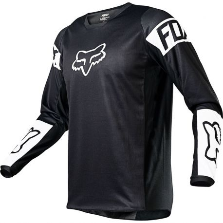Maillot FOX Youth 180 REVN - Black (2021)