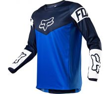 Maillot FOX Youth 180 REVN - Blue (2021)